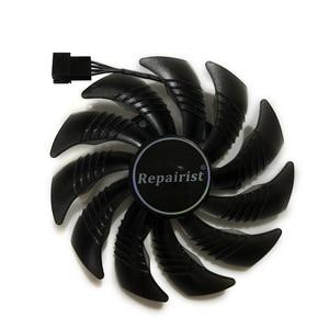 Image 2 - 82 85 Mm T129215SU Gpu Koeler Alternatief Fan Voor Gigabyte RX580 480 570 470 GTX1070 1060 1050 Grafische Video kaart Koeling Vergoeding