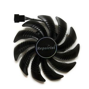 Image 2 - 82 85MM T129215SU GPU Cooler Alternative Fan For GIGABYTE RX580 480 570 470 GTX1070 1060 1050 Graphics Video Card Cooling Fee