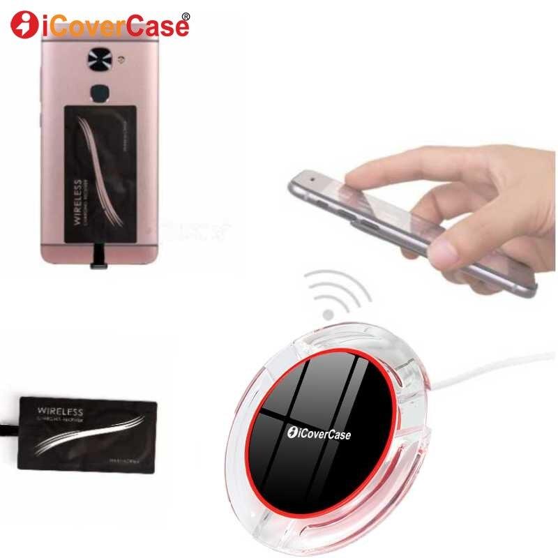 Cargador inalámbrico Qi cojín de carga para Huawei P20 lite p 20 pro p20lite p20pro receptor QI cargador inalámbrico caso del teléfono accesorio