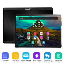 Super 2.5D Tempered Glass IPS 10 Inch Tablet PC 4GB RAM 64GB ROM MTK8752 Octa Core 3G 4G LTE FDD Dual Sim Cards PC Tablets 10.1(China)