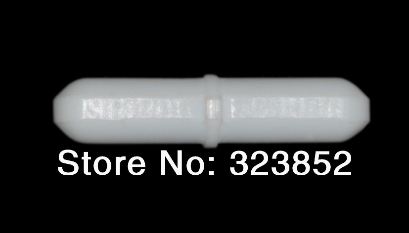 Luminosa Stir Bar Dia 3x6mm Teflon Ptfe Resina Rivestita. Perno Magnetici Canne Octagon-shaped. Stir Con Un Centro Modellato Anello Pacchetto 10