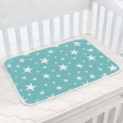 Baby Changing Mat Infants Portable Foldable Washable Waterproof Mattress Cartoon Changing Pad Floor Mats Cushion Reusable Diaper