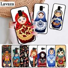 Lavaza Russian matryoshka Dolls Coque Silicone Case for Samsung A3 A5 A6 Plus A7 A8 A9 A10 A30 A40 A50 A70 J6 A10S A30S A50S
