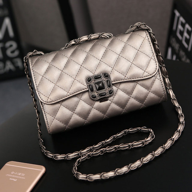 d17877c7ff62 Luxury Handbags Women Bags Designer Messenger Bags CC style Chains Diamond  Lattice Cross Body Bags Over Shoulder bags sac canta