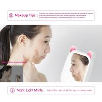 Fashion Q5 Smart LED Make up Cosmetic Light Mirror 3 Modes Music Bluetooth Speaker Make up Mirror for Perfect Makeup Look