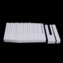 High quality Piano 52 keytops  Simulated Ivory for replacing key top Piano Accessory New replacing worn key tops