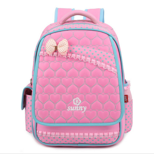 school bags for girls kids cute pink school backpack waterproof bookbag  bagpack girl schoolbag children backpacks wholesale 07021d52d1383