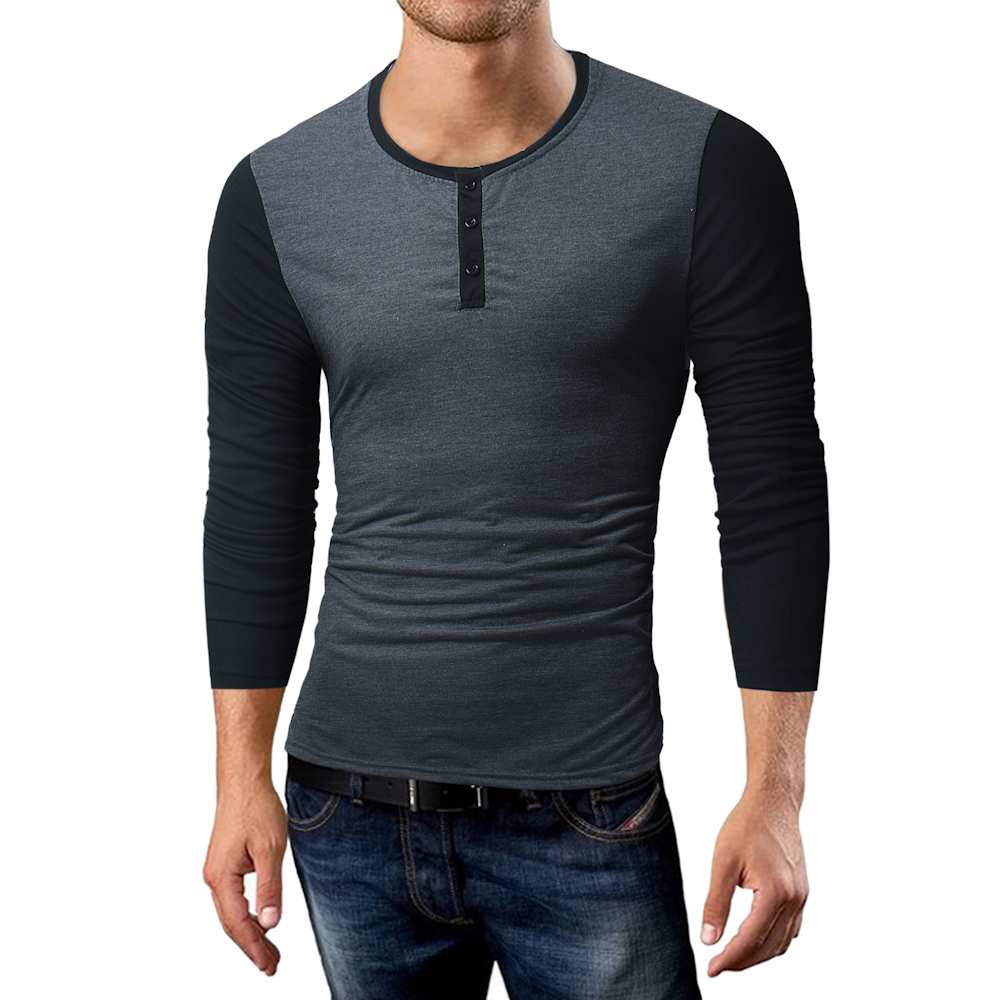 Phertiful 2017 New Men's Fashion Winter Coat Long Sleeve Sweater Men's Jacket Casual T-shirt High Collar Men Tshirt  5XL