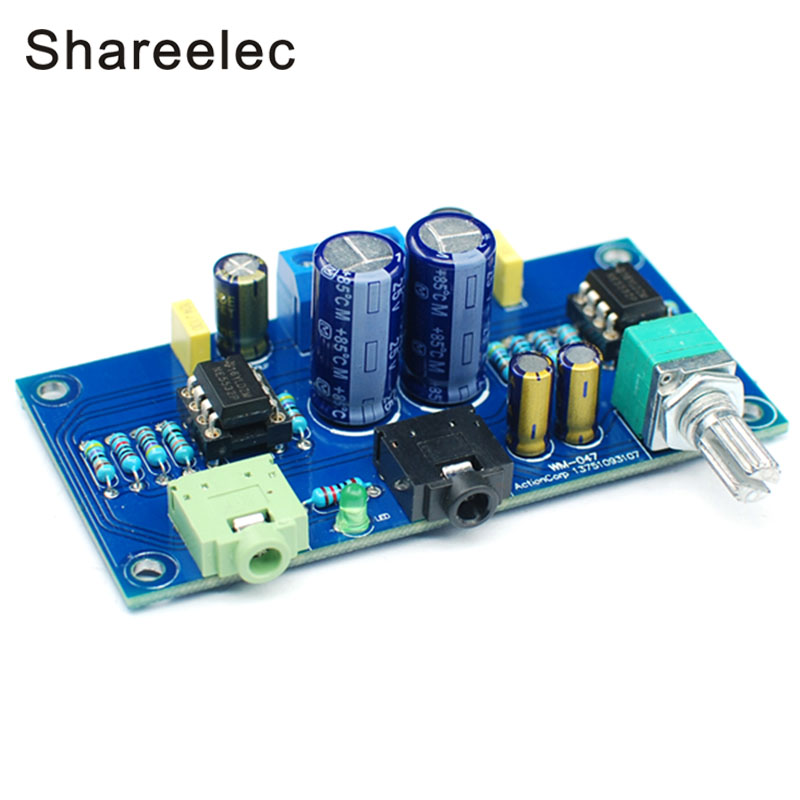 shareelec hifi 47 earphone amplifier 2 channel headphone amplifier 47 amplifier dc double power. Black Bedroom Furniture Sets. Home Design Ideas