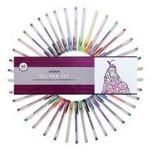 Eparon живописи тушью 40 частей гелевая ручка набор с случае 40 Уникальный Цвета для художественной школы поставки