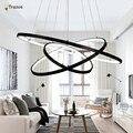 Современная LED Простые Подвесные Светильники Лампы Для Гостиной Cristal Блеск Подвесные Светильники Подвесные Потолки Подвесные Светильники