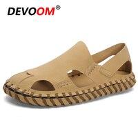 New Fashion Herren Schuhe Light Beach Sandal Hot Sale Men Shoes Classic Native Shoes Microfiber Leather Sandals Men Summer Shoes