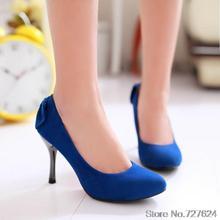 ปั๊มฝูงใหม่32 33 46 45 44รองเท้าผู้หญิงส้นสูง8เซนติเมตรแพลตฟอร์ม1เซนติเมตรส้นเท้าบางEURขนาด31-47