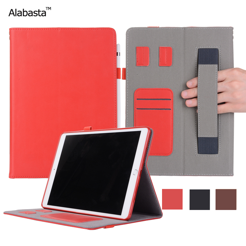 Alabasta For iPad Mini1 2 3 Case Luxury Genuine Leather Surface + Silicone Protection Stand Card pouch Pocket With stylus pen case for ipad air1 alabasta pu leather