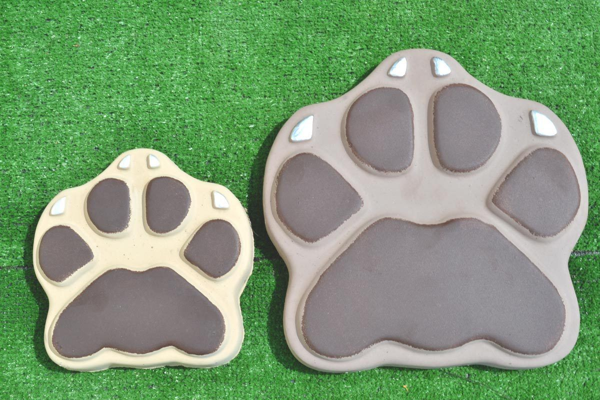 Charmant Mold For Concrete DIY Garden Path Paving Maker Beastu0027s Paws Dog Cat Stepping  Stone Cement Mold Concrete Mould Garden Walk Path On Aliexpress.com |  Alibaba ...