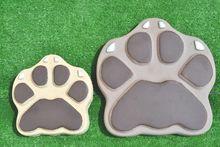 Form für beton DIY Gartenweg pflaster maker Beast der Pfoten hund Katze Sprungbrett zement Schimmel Beton Mould garten-weg pfad