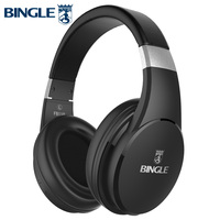 Fb110 Deep Bass 3D Surround Stereo Noise Cancelling Wireless Bluetooth Headsets Headphone With Microphone For Music,Studio,Audio
