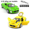 1:32 alloy  car models,high simulation Jaguar C-X75 ,metal diecasts,toy vehicles,pull back & flashing & musical,free shipping