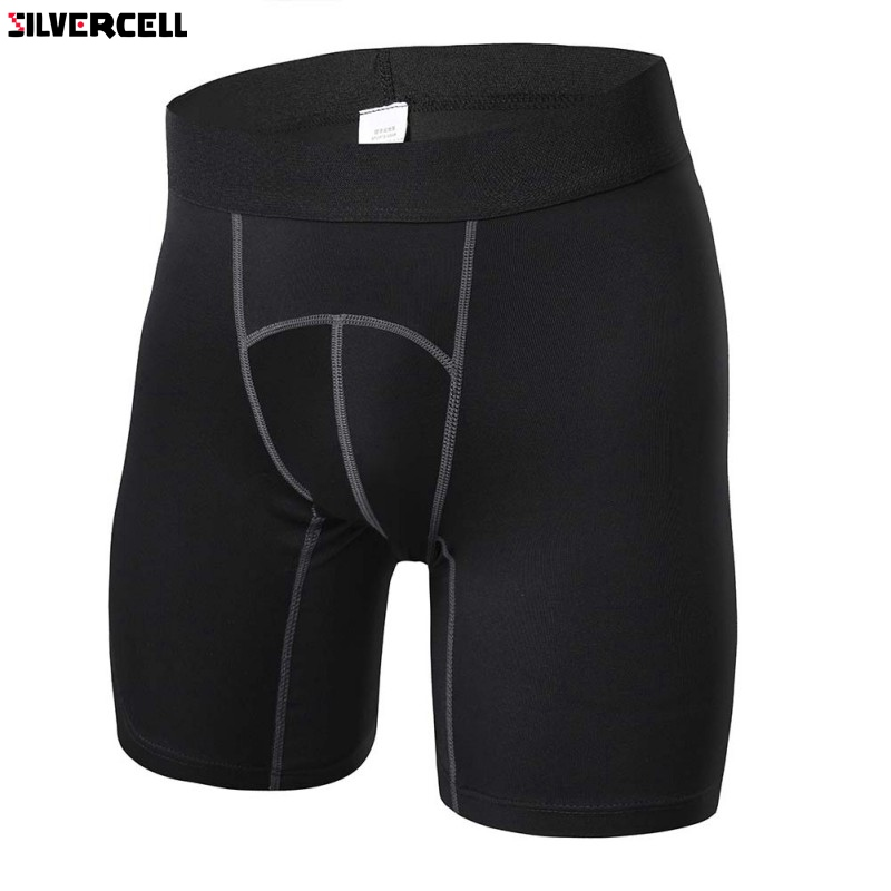4 Colors Men Quick Dry Shorts Fitness Workout Compression Base Under Layer Short