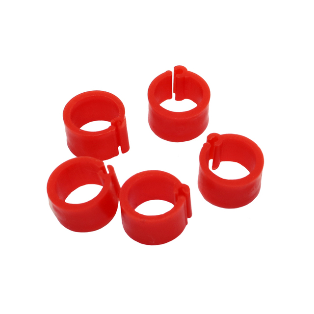 200 Pcs 8 MM Pigeon Foot Ring Color Identification Rings 2
