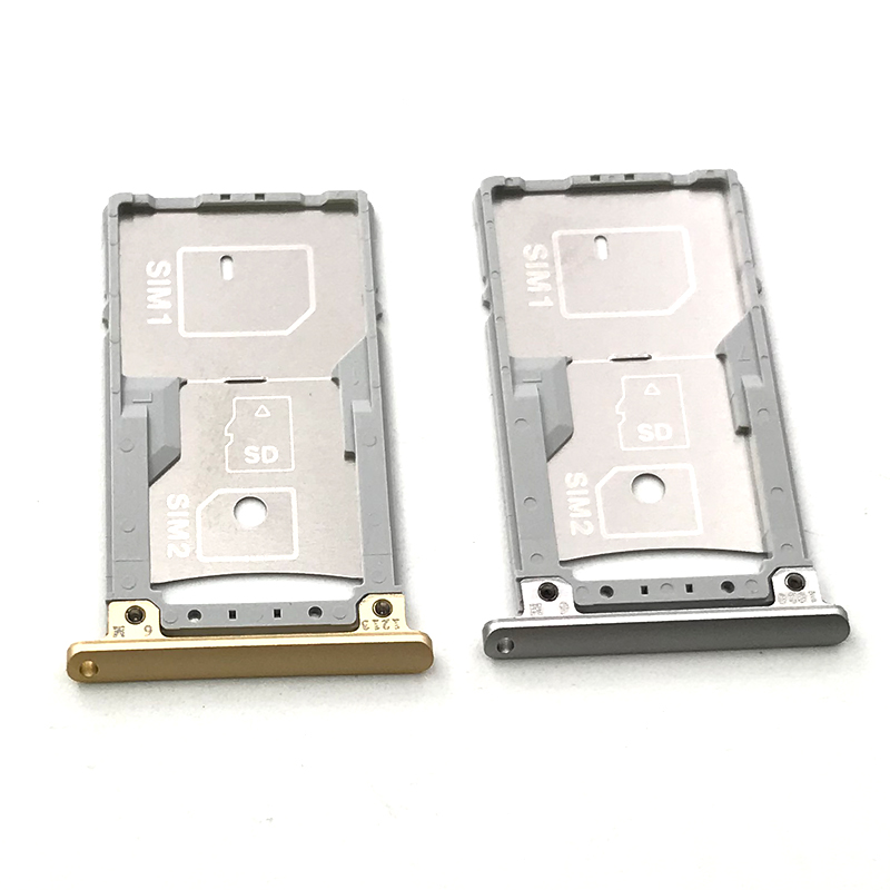 Silver/Gold For Asus Zenfone 3 Laser ZC551KL SIM Card Tray Slot Holder Replacement Parts