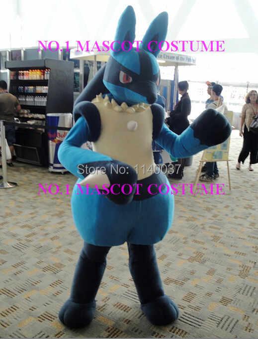 マスコットぬいぐるみルカリオマスコット衣装アニメ漫画キャラクターコスプレショーカーニバル衣装ファンシーdress