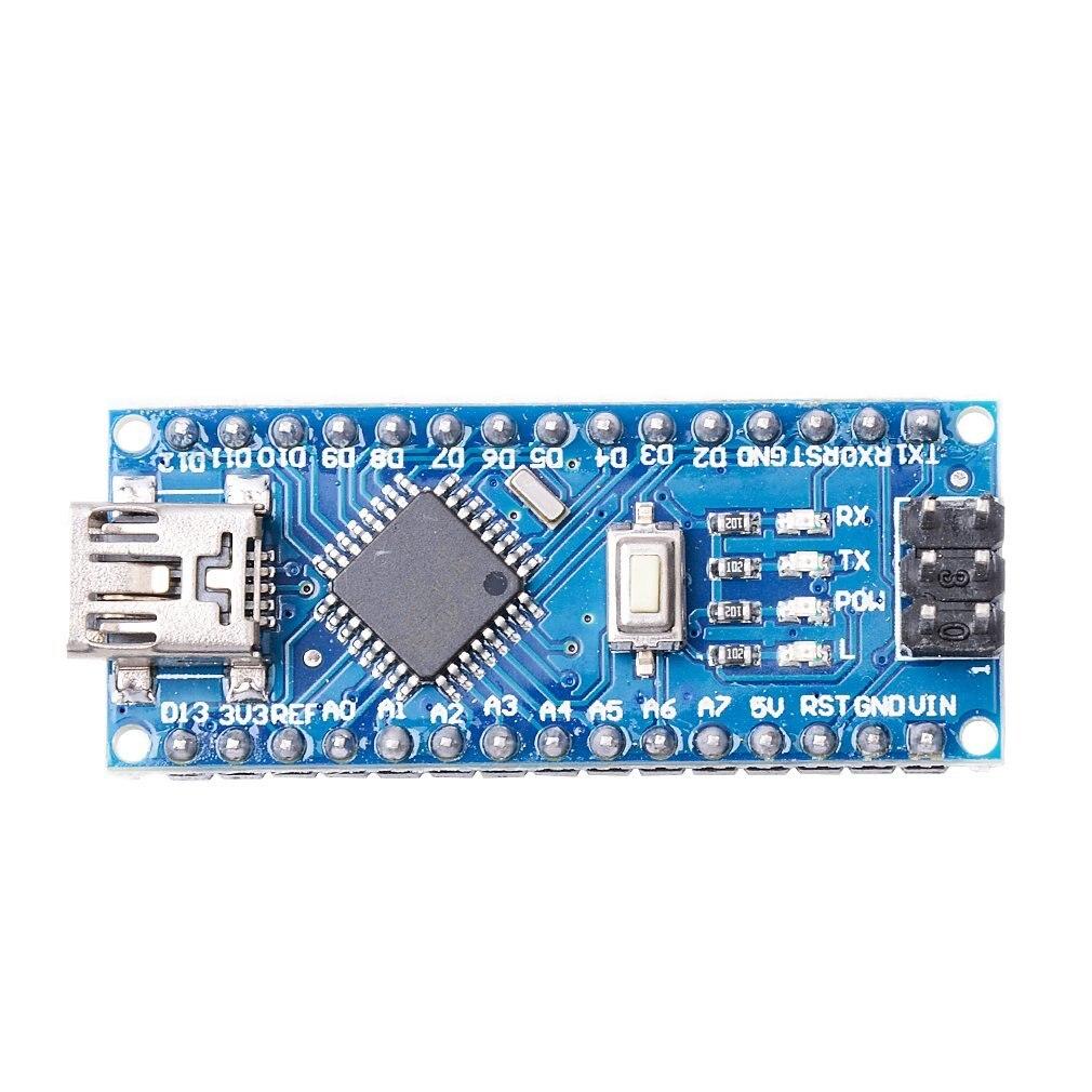 Płytka Nano CH340/ATmega328P bez kabla USB, kompatybilna z Arduino Nano V3.0 (bez kabla) 3