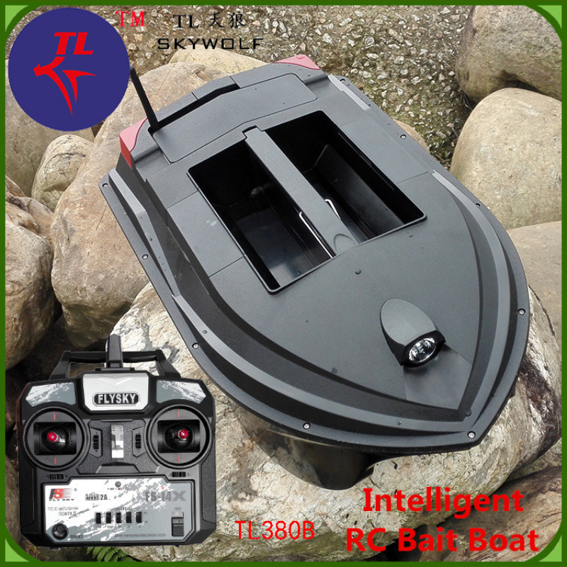 Fast RC Electric Fishing Bait Boat TL-380B 2.4G 3KG Lower fishnet Feeding hook Fishing Remote control double Boat Lure Boat mini fast electric fishing bait boat 300m remote control 500g lure fish finder feeder boat usb rechargeable 8hours 9600mah