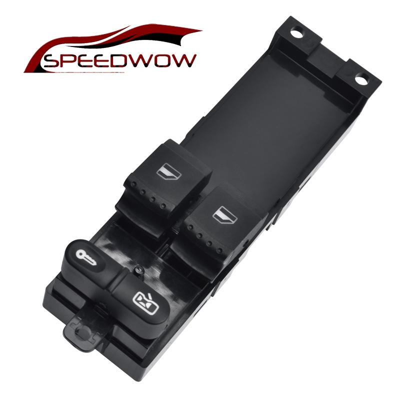 SPEEDWOW Electric Master Window Switch For SKODA FABIA 6Y SKODA OCTAVIA A4 1U 1999-2009 VW Golf 1999-2005 1J3959857A speedwow electric master window switch for skoda fabia 6y skoda octavia a4 1u 1999 2009 vw golf 1999 2005 1j3959857a