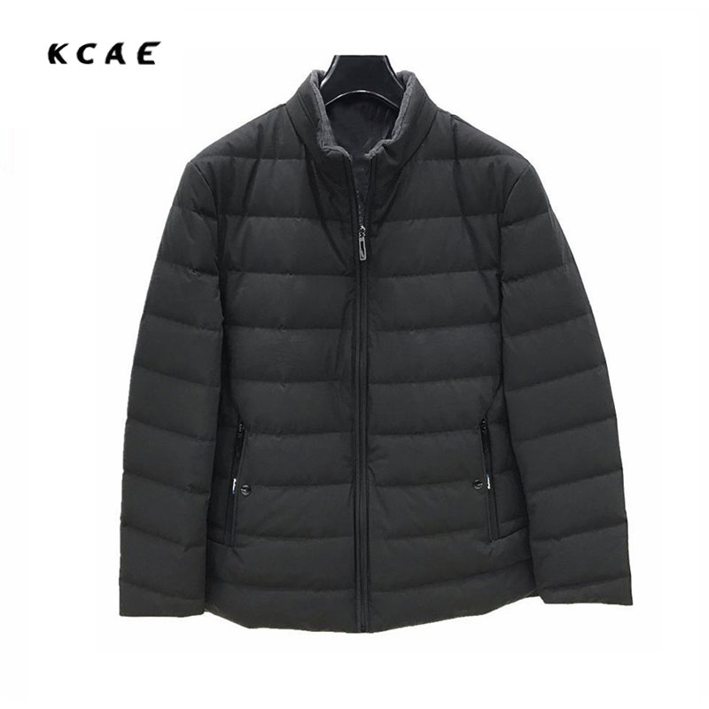 2017 men's High-quality Cotton clothing Plus fat in the long section of the Collar cotton collar men Loose Solid color coat 6XL the quality of accreditation standards for distance learning