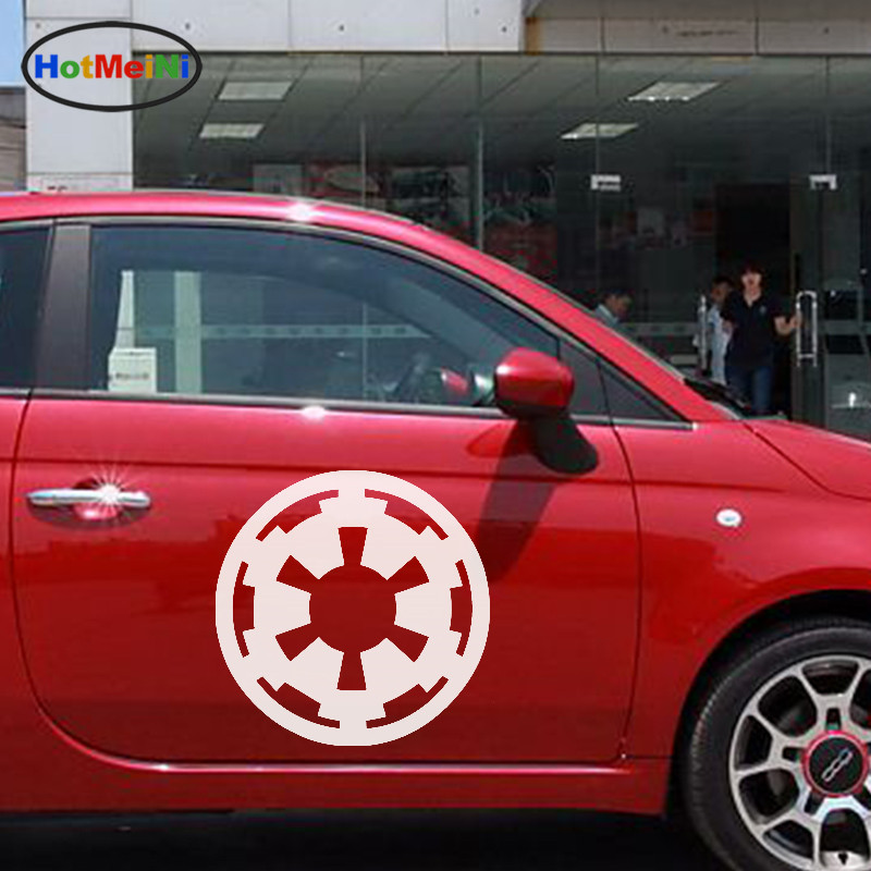 HotMeiNi 2 X Film Art Star Wars Galactic Empire Logo Military Enthusiasts Car Sticker for Truck Side Wall Vinyl Decal 9 Colors