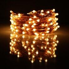 150led 49ft 15m chrismas halloween string lights decoration party copper wires led fairy lights12v1a