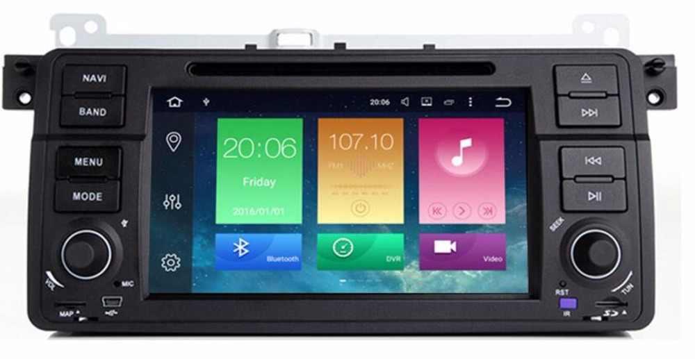 1024*600 Android 8,0 4 Гб + 32G Автомобильный dvd-проигрыватель с gps для BMW E46 M3 Авто радио мультимедиа аудио стерео