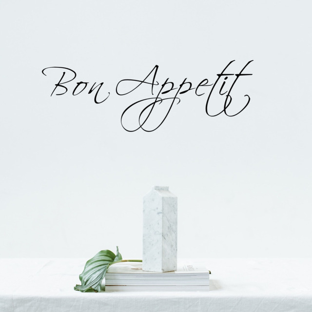 Parola francese Bon Appetit Adesivo Cucina Adesivo Da Parete In ...