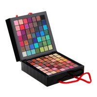 Pro 177 Full Colors Eyeshadow Palette Makeup Tool Set Matte Shimmer Eye Shadow Beauty Cosmetic Pigmented