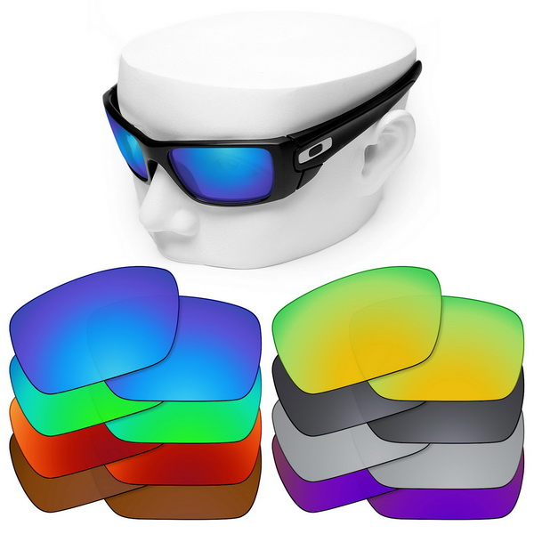 OOWLIT Polarized Replacement Lenses For-Oakley Fuel Cell Sunglasses