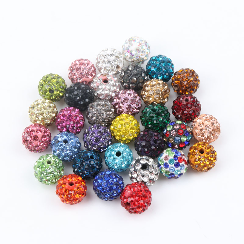 Beads & Jewelry Making Independent Hot Sale 50pcs 10mm Dutch Purple Shamballa Beads Crystal Disco Ball Beads Shambhala Spacer Beads Shamballa Bracelet Crystal Clay Jewelry & Accessories
