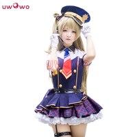 Lovelive Love Live School Idol Project Kotori Minami Cosplay Navy Blue Dress Police Uniform Costume