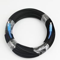 50M SC Simplex FTTH Drop Patch Cable Outdoor Singlemode Fiber Optic Patch Cord