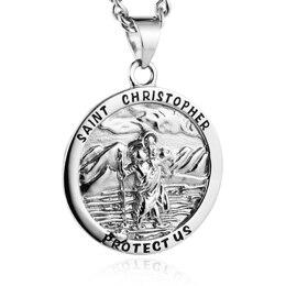 Médaille Porte-Bonheur Saint-Christophe