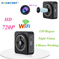 Wifi IP Mini Camera Wireless HD 1080P Infrared Micro Camcorders IR Night Vision Action Camera Portable