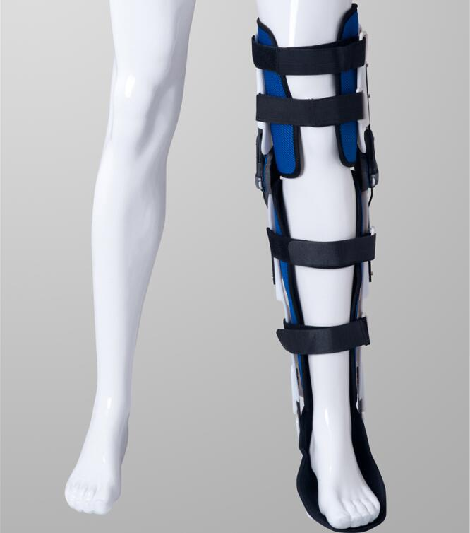 Free Shipping Knee Ankle Foot Orthosis KAFO Brace Rehabilitation Equipment Left Right Medical Fixed Brace Orthopedic Instrument free shipping medical shoulder brace