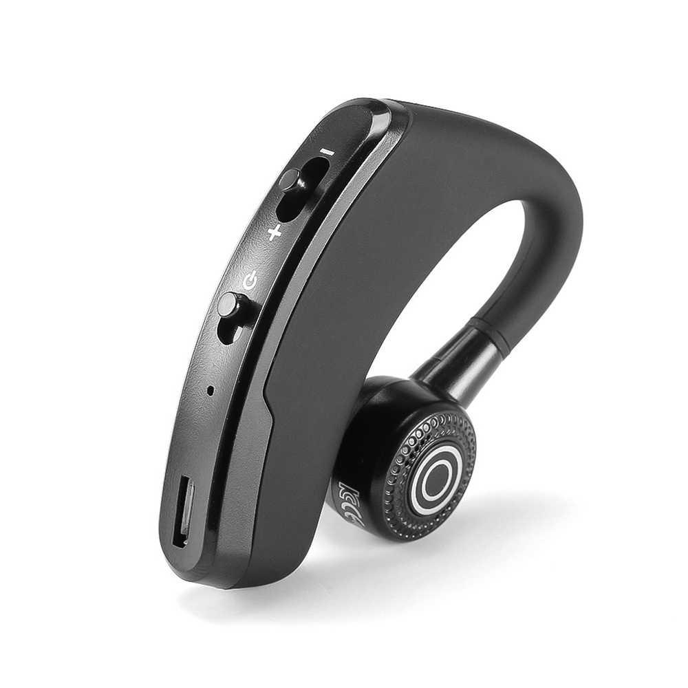 Uniwersalne głośnomówiący bezprzewodowy zestaw słuchawkowy Stereo V4.0 biznes Bluetooth słuchawki telefonu zestaw słuchawkowy Bluetooth kierowca samochodu słuchawka zestawu głosnomówiącego