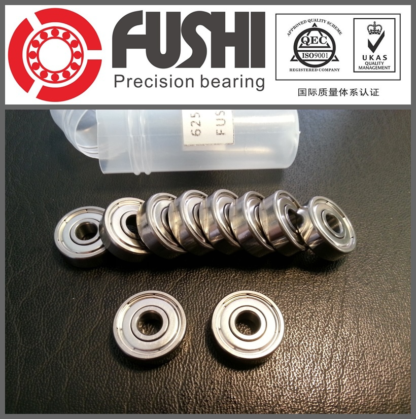 625ZZ Bearing ABEC-5 10PCS 5x16x5 MM Miniature 625Z Ball Bearings 625 ZZ EMQ Z3V3 Quality 683zz bearing abec 7 10pcs 3x7x3 mm miniature 683 zz ball bearings 618 3zz emq z3v3 high quality
