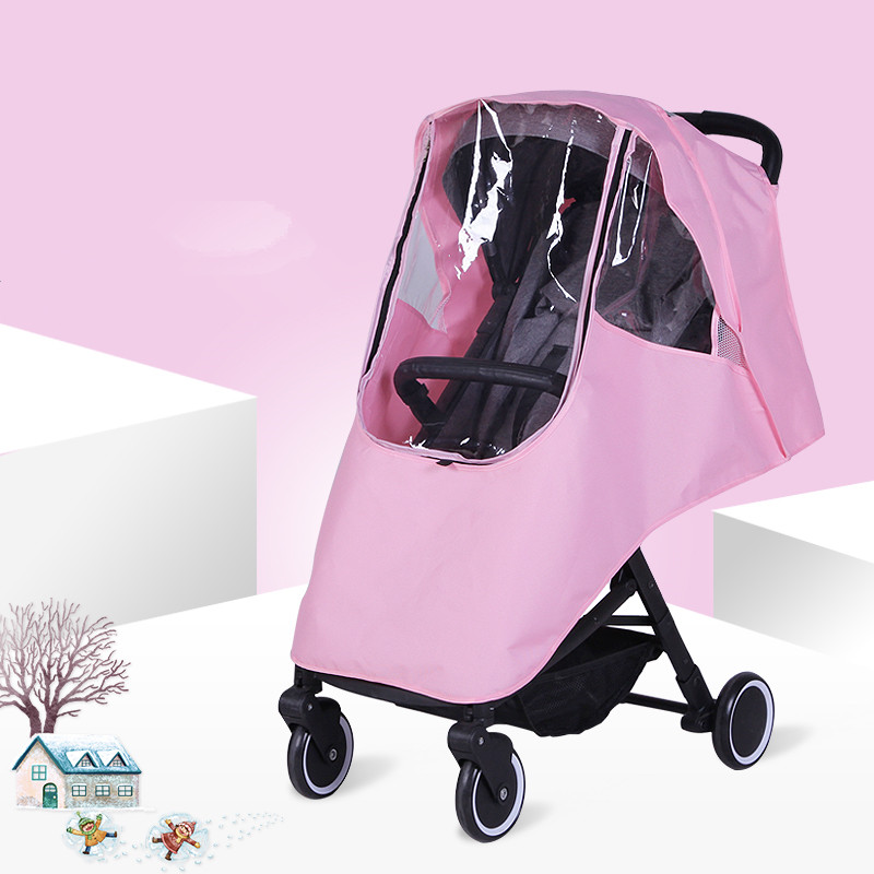 Bébé poussette accessoires universel imperméable à l'eau pluie couverture vent pare-poussière pour poussettes poussettes poussette Buggy couverture