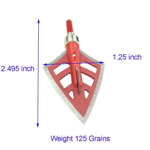 4-teräinen leikkurikärki 6 kpl, 100 ja 125 grainia