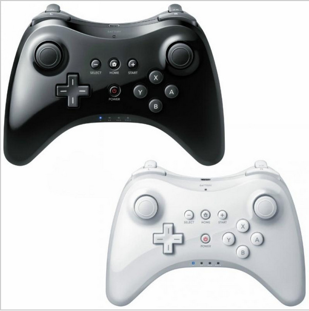 2019 Classic Dual Bluetooth Gamepad Wireless Remote Controller USB U Pro Game Gaming Gamepad for Nintendo for Wii U