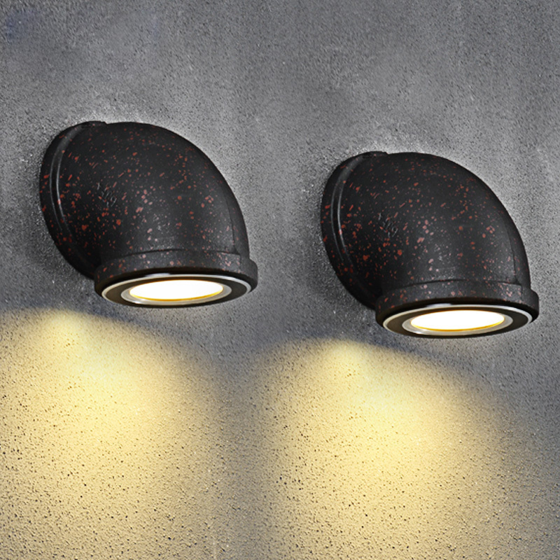 RH Vintage Industriewasserleitung Wandleuchten Loft 3W LED - Innenbeleuchtung
