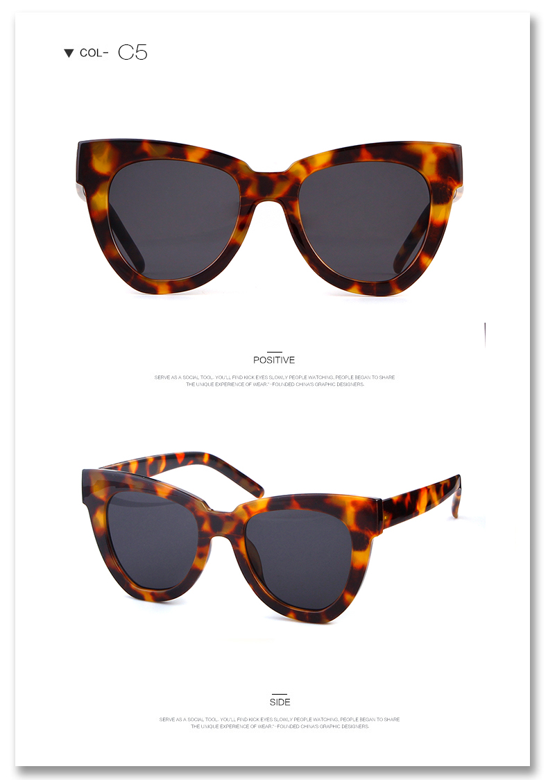 970ae5461d39 Rock your summer look girl with these tortoise shell sunglasses. Featuring  a winged design, style them with your favourite vacay outfits to complete  the ...