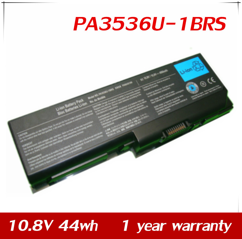 7XINbox 10.8V 44wh Laptop <font><b>Battery</b></font> For <font><b>Toshiba</b></font> <font><b>Satellite</b></font> <font><b>L350</b></font> L350D P200 P300 P305 PA3536U PA3536U-1BRS PA3537U PABAS100 image